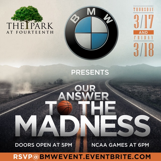 BMW Presents Our Answer To The Madness Washington D.C.